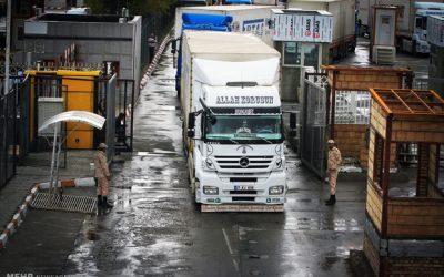 کاهش ۵۰ درصدی صادرات ایران به ترکیه