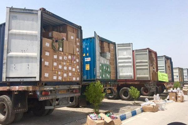 کشف ۷۵۸ قلم کالای قاچاق از داشبورد یک کامیون