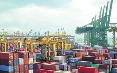 صادرات غیرنفتی ۶ درصد و واردات ۱۲ درصد افزایش یافت
