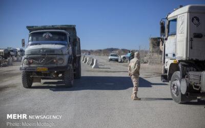 تمام مرز های ایران و افغانستان فعال هستند