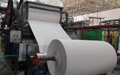 واردات  ۷۷ هزار تن کاغذ تحریر به کشور