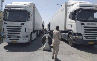 کشف ۴ هزار فشنگ جنگی کلاشینکف از ۲ کامیون ورودی از افغانستان
