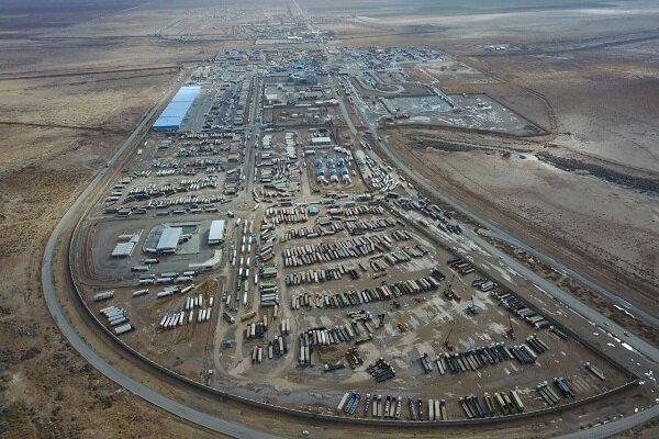 تبادل کالا در مرز دوغارون از سر گرفته شد