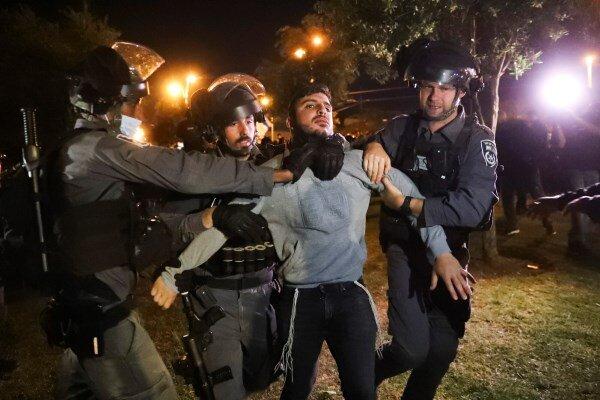 سرکوب گسترده تظاهرات فلسطینیان در قدس اشغالی