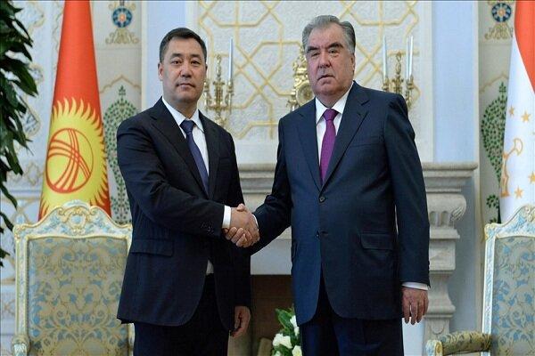 نخستین دیدار سران تاجیکستان و قرقیزستان پس از درگیریهای مرزی
