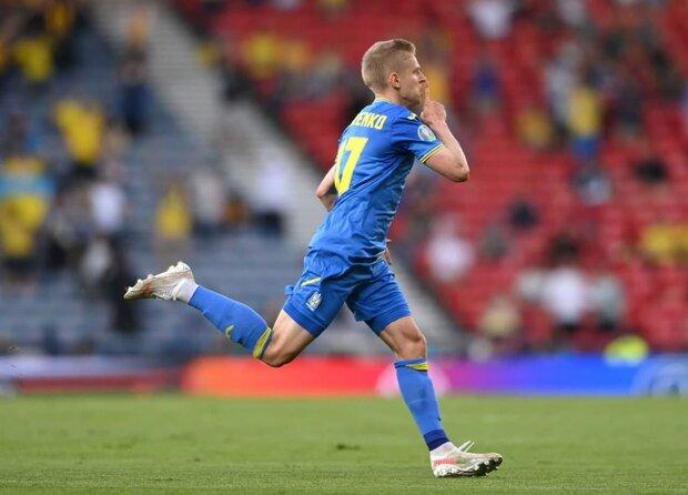 اوکراین با غلبه بر سوئد به مرحله یک چهارم نهایی صعود کرد