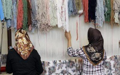 مشکلات پیش روی تولیدکنندگان فرش دستباف
