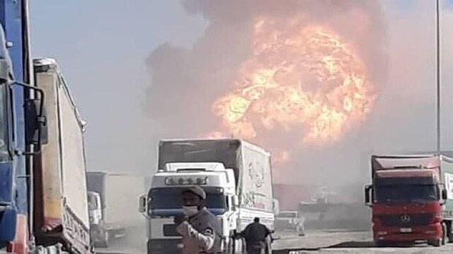 ساماندهی کالاهای تجاری در مرز دوغارون/ اظهار نظر رسمی خسارات بر عهده دولت افغانستان است