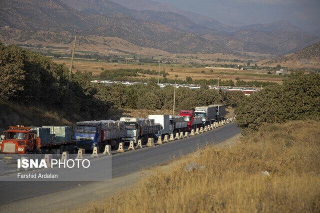 ترانزیت بیش از ۱۳ هزار تن کالا از مرز ماهیرود